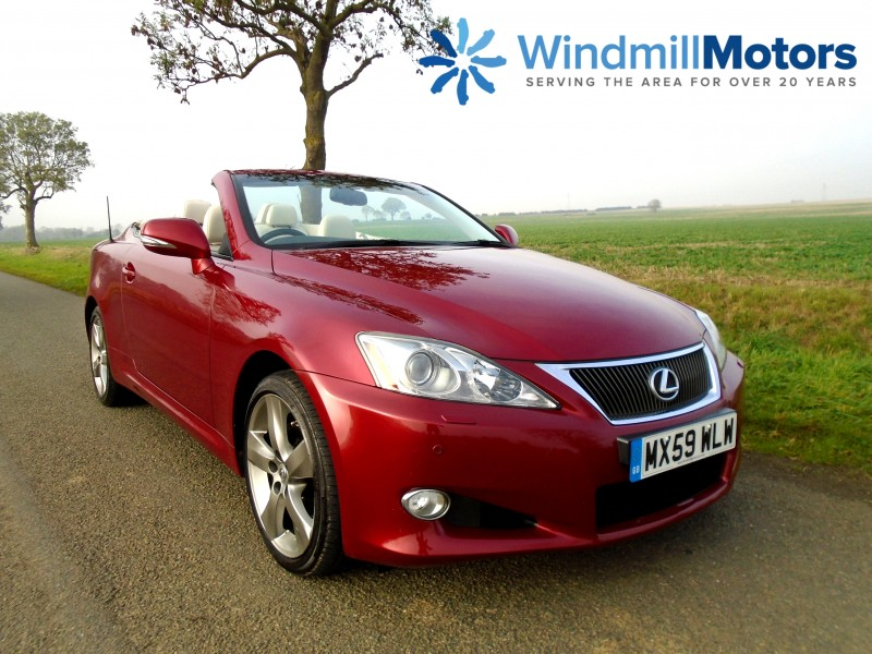 Lexus IS 250 2.5 SE-L Automatic 2dr Convertible | Windmill Motors Ltd