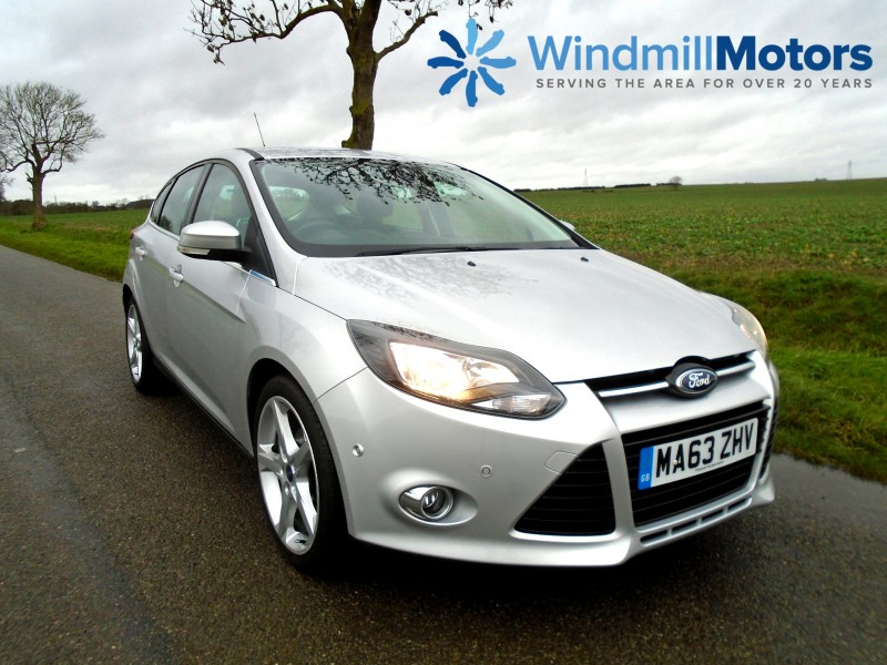 Ford Focus 1.6 TDCi Titanium Navigator 5dr Hatchback | Windmill Motors Ltd