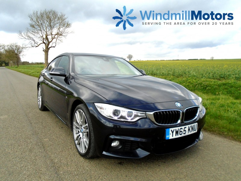 BMW 4 Series Gran Coupe 2.0 420d M Sport Gran Coupe xDrive (s/s) Automatic 5dr | Windmill Motors Ltd