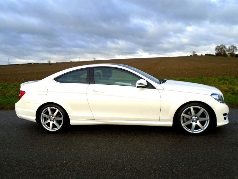 Mercedes-Benz C Class 2.1 C220 CDI AMG Sport Edition (Premium Plus) 7G-Tronic Plus 2dr | Windmill Motors Ltd