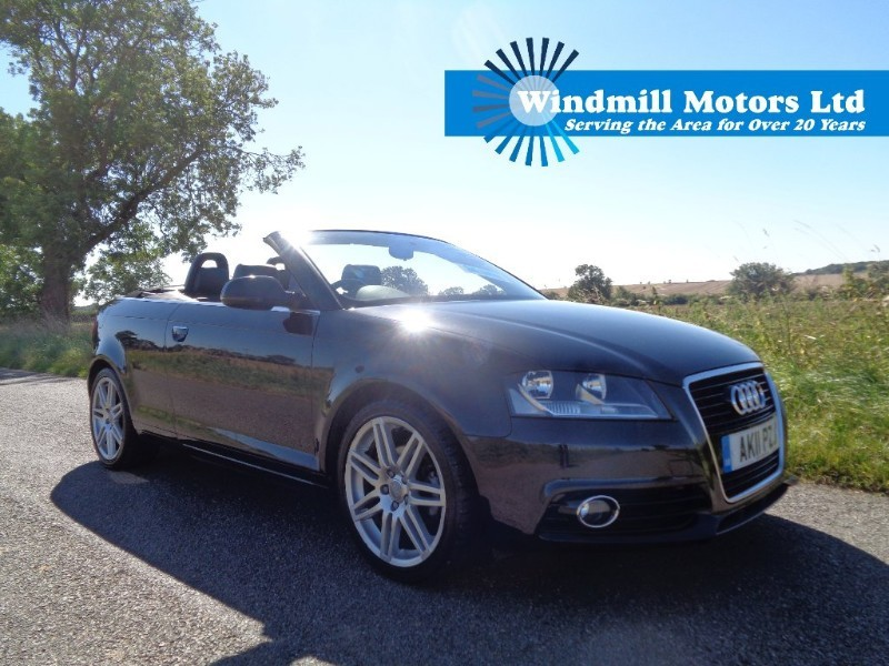 used 2011 audi a3 cabriolet 1 8 tfsi s line 2dr. Black Bedroom Furniture Sets. Home Design Ideas