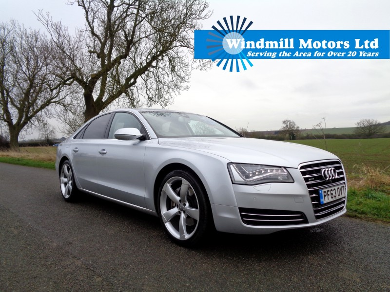 used 2014 audi a8 3 0 tdi sport executive tiptronic quattro 4dr saloon for sale at windmill. Black Bedroom Furniture Sets. Home Design Ideas
