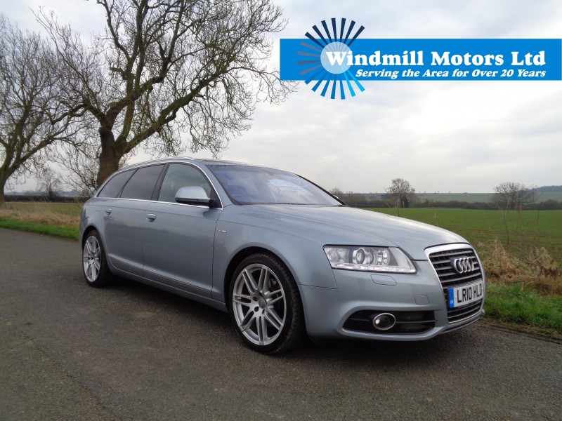Used audi a6 diesel estate for sale 15