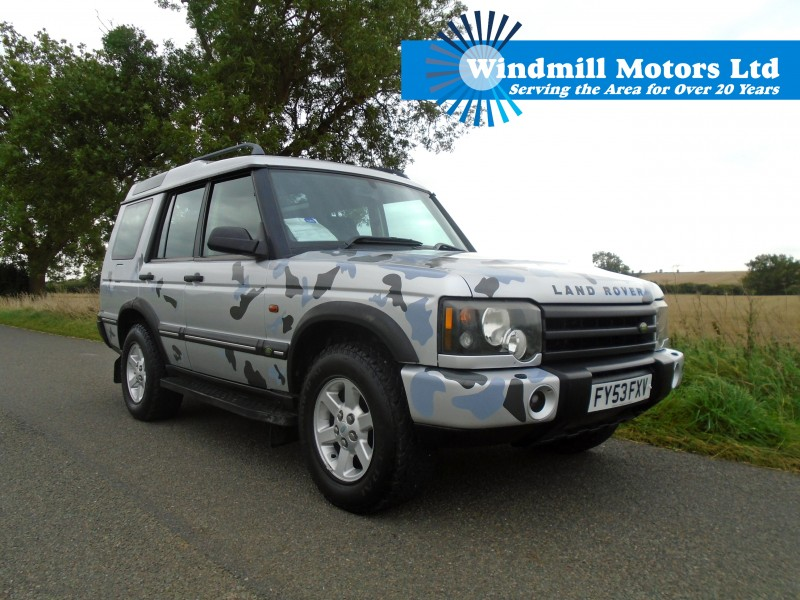 Land Rover Discovery 2 >> Used Land Rover Discovery 2 2 5 Td5 Gs Station Wagon 5dr 5 Seats