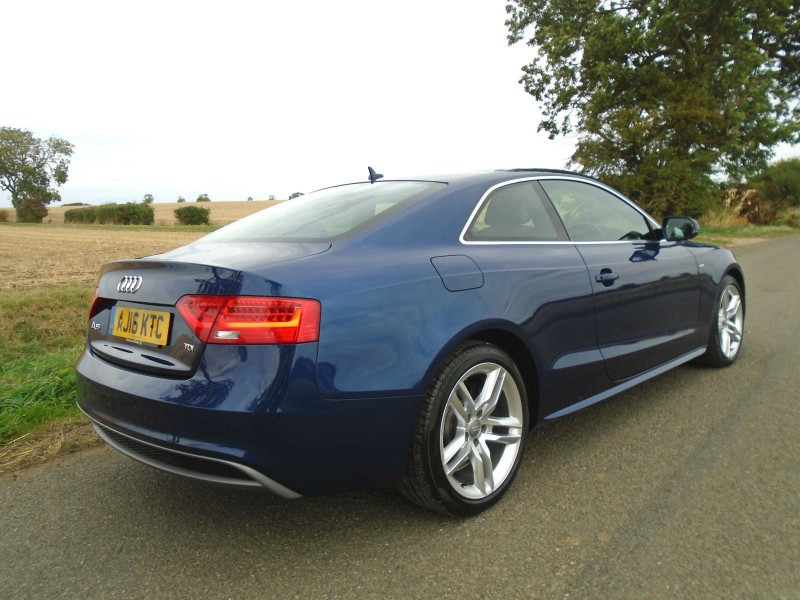 Audi A5 2.0 TDI S line Multitronic (s/s) Automatic 2dr Coupe | Windmill Motors Ltd