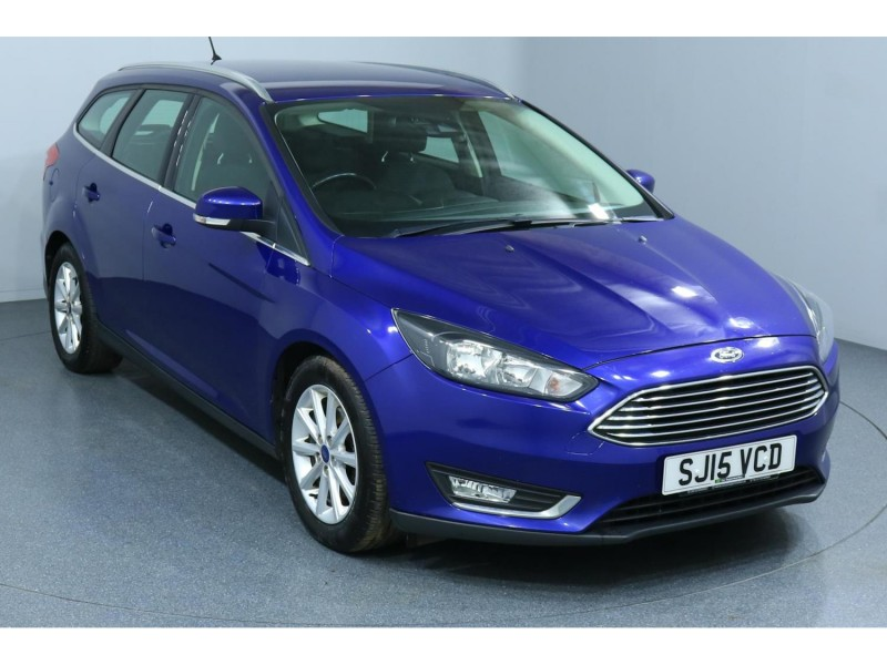 Ford Focus Titanium TDCi 2L 5dr - SW Car Supermarket