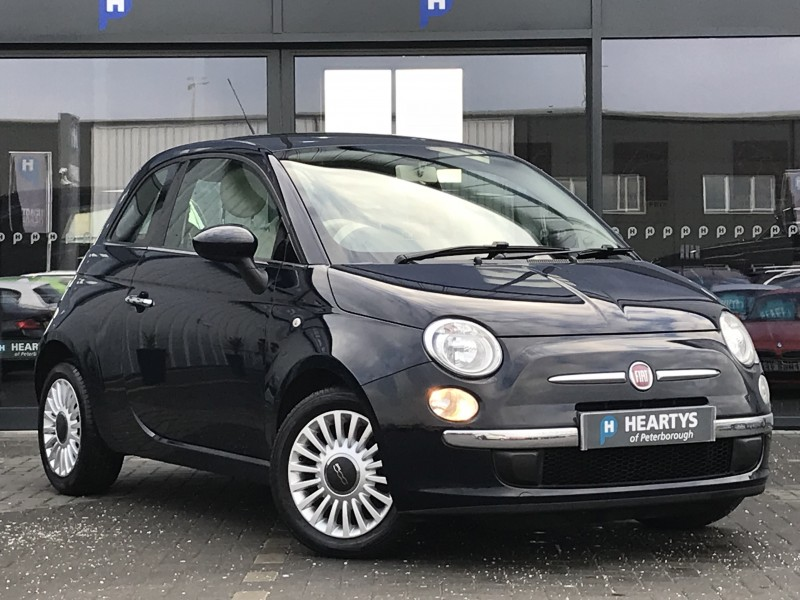 Fiat 500 Lounge 1.2L 3dr | Heartys of Peterborough