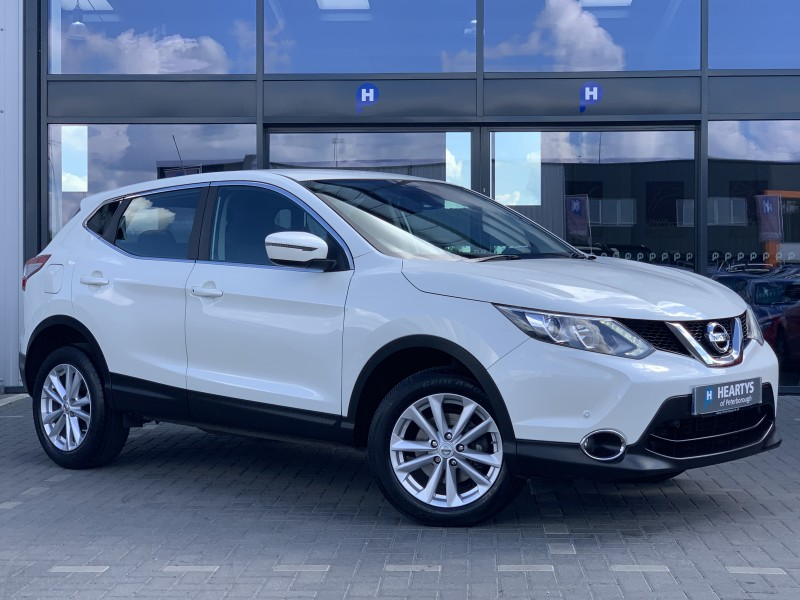 Nissan Qashqai dCi Acenta Smart Vision 1.5L 5dr | Heartys of Peterborough