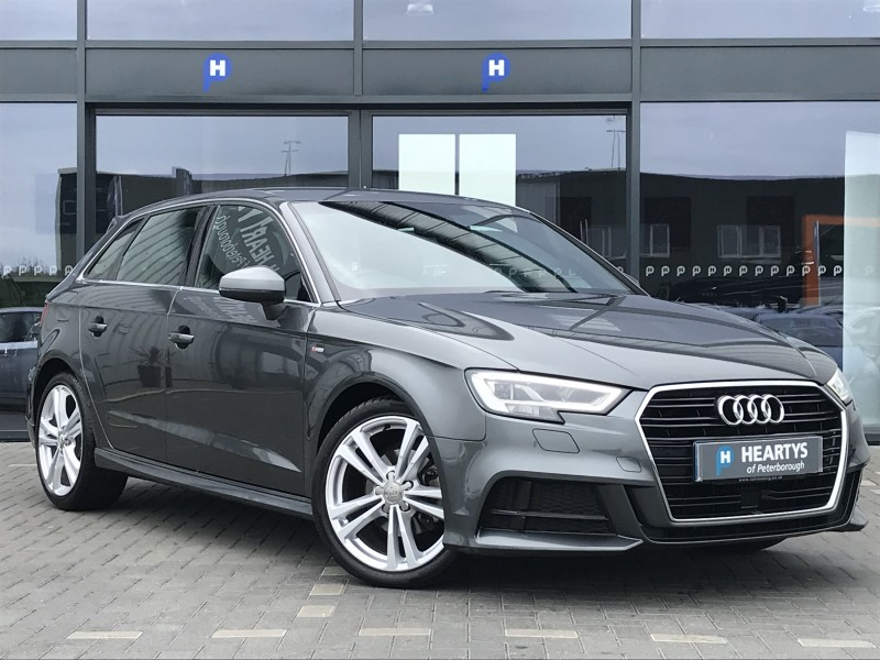 Audi A3 TDI S Line 2L 5dr | Heartys of Peterborough