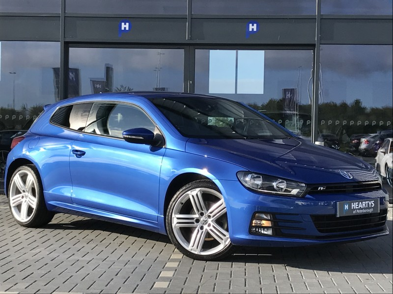 volkswagen scirocco r line tdi bluemotion technology 2l 2dr for sale at heartys of peterborough. Black Bedroom Furniture Sets. Home Design Ideas