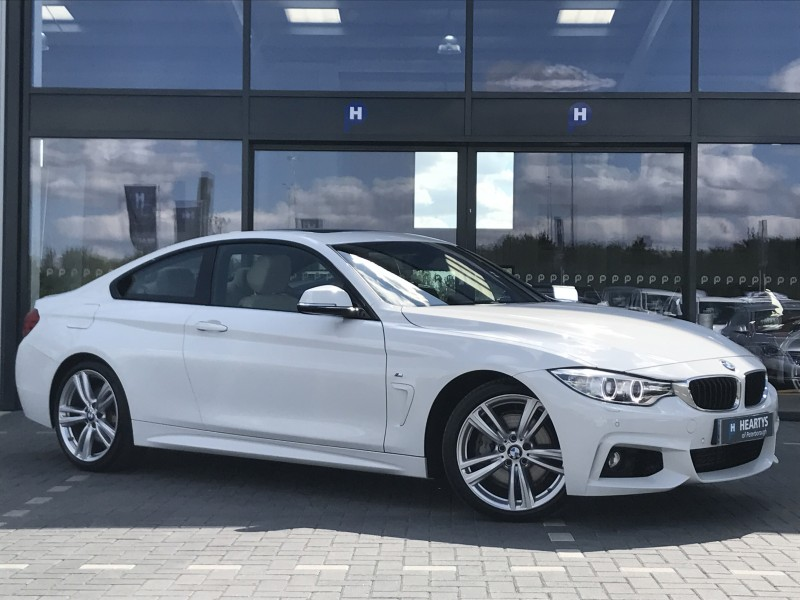 BMW Series I M Sport L Dr For Sale At Heartys Of Peterborough - Bmw 4 series 435i m sport