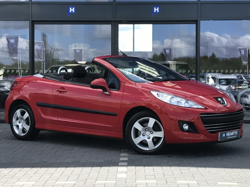 peugeot 207 cc active 1 6l 2dr for sale at heartys of peterborough. Black Bedroom Furniture Sets. Home Design Ideas