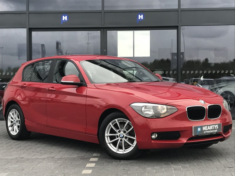 bmw 1 series 116d efficientdynamics 1 6l 5dr for sale at heartys of peterborough. Black Bedroom Furniture Sets. Home Design Ideas
