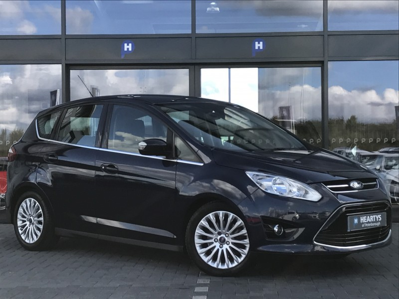 ford c max titanium tdci 2l 5dr for sale at heartys of peterborough. Black Bedroom Furniture Sets. Home Design Ideas