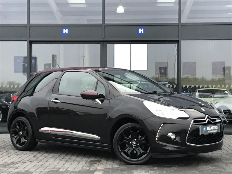 citroen ds3 e hdi airdream dsport 1 6l 3dr for sale at heartys of peterborough. Black Bedroom Furniture Sets. Home Design Ideas