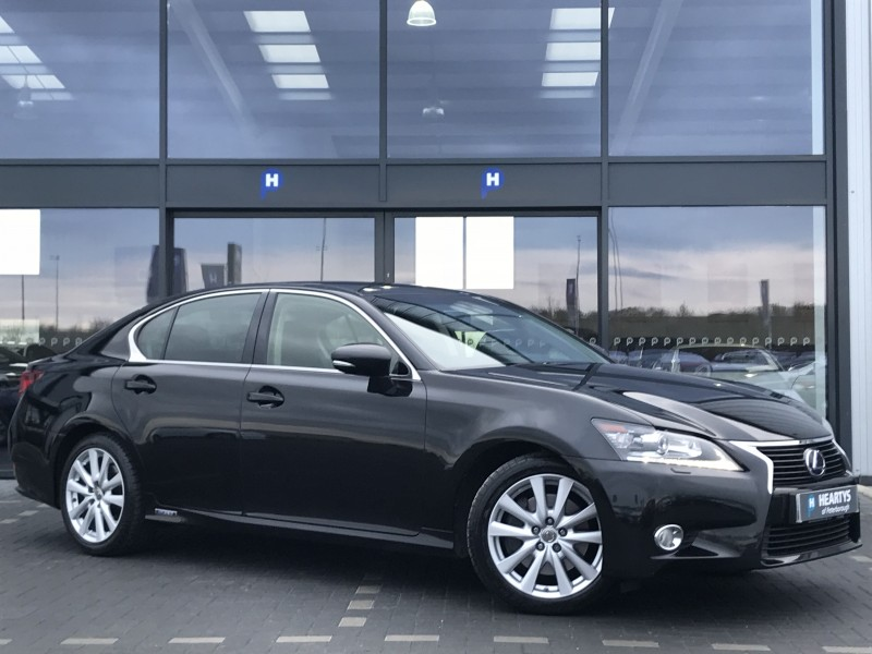 lexus gs 300h luxury 2 5l 4dr for sale at heartys of peterborough. Black Bedroom Furniture Sets. Home Design Ideas