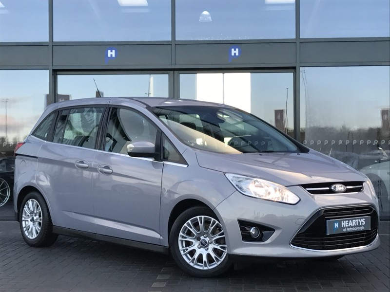 Ford C Max Grand Titanium 1 6l 5dr For Sale At Heartys Of
