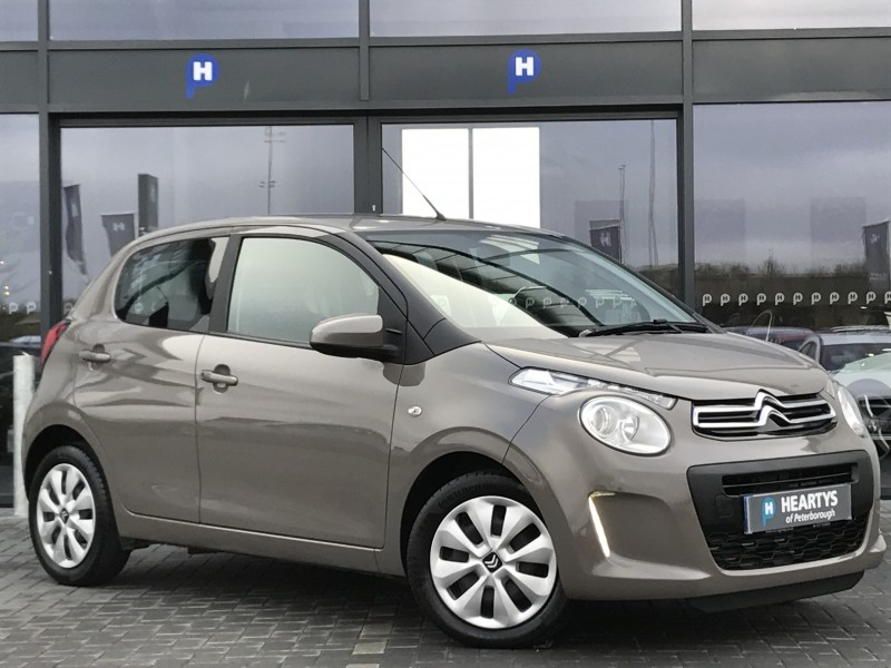 citroen c1 feel 1l 5dr for sale at heartys of peterborough. Black Bedroom Furniture Sets. Home Design Ideas