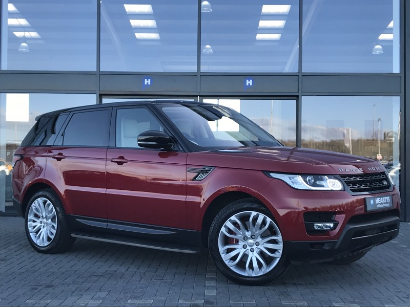 land rover range rover sport sdv6 hse dynamic 3l 5dr for sale at heartys of peterborough. Black Bedroom Furniture Sets. Home Design Ideas