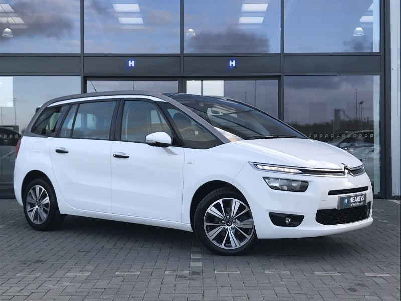 citroen c4 grand picasso e hdi airdream exclusive 1 6l 5dr for sale at heartys of peterborough. Black Bedroom Furniture Sets. Home Design Ideas