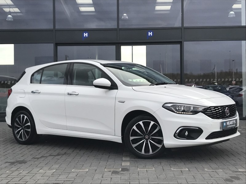 Fiat Tipo Multijet Lounge 1.2L 5dr | Heartys of Peterborough