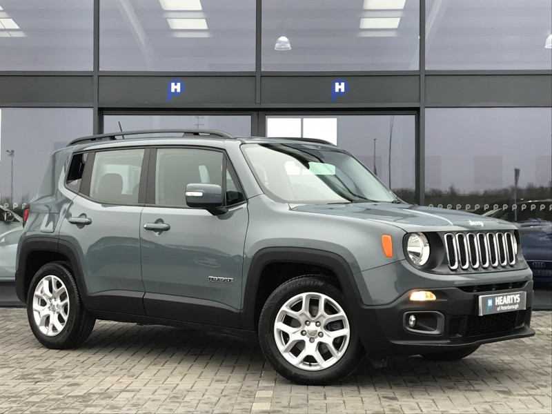 jeep renegade longitude 1 4l 5dr for sale at heartys of peterborough. Black Bedroom Furniture Sets. Home Design Ideas