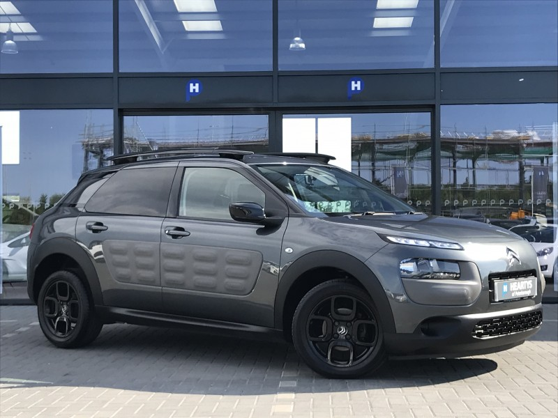 citroen c4 cactus bluehdi feel 1 6l 5dr for sale at heartys of peterborough. Black Bedroom Furniture Sets. Home Design Ideas