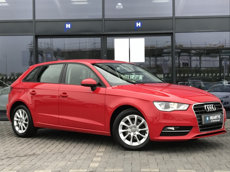 audi a3 tdi se 2l 5dr for sale at heartys of peterborough. Black Bedroom Furniture Sets. Home Design Ideas