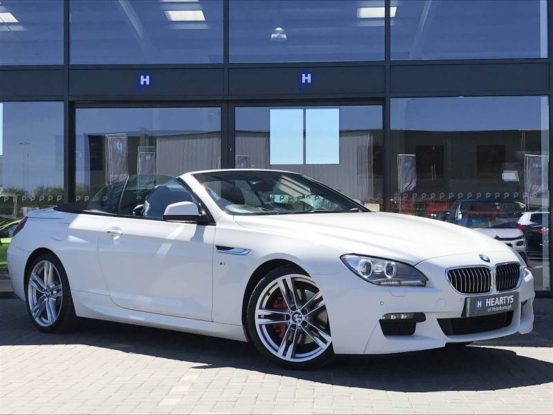 BMW 6 Series 640d M Sport 3L 2dr | Heartys of Peterborough
