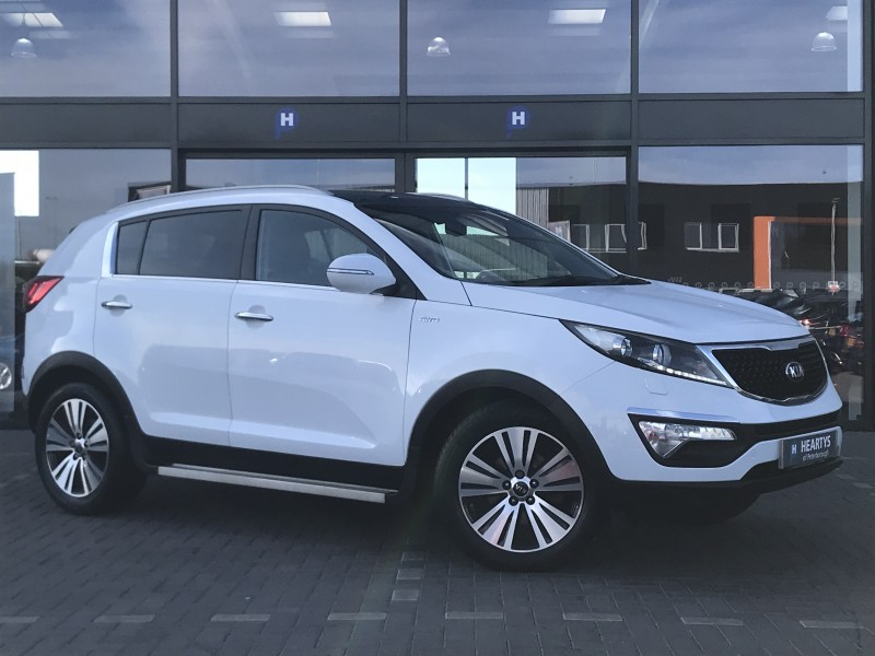 Kia Sportage Crdi Kx 3 Sat Nav 2l 5dr For Sale At Heartys
