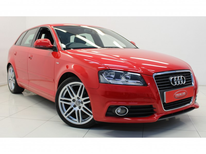 audi a3 tdi s line 2l 5dr for sale at stirling cars in peterborough. Black Bedroom Furniture Sets. Home Design Ideas
